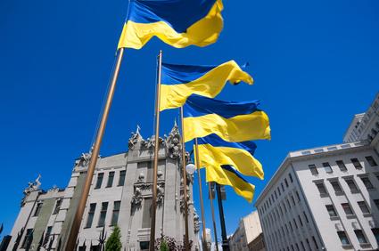 Flagge der Ukraine (Foto: Christian Knospe / Fotolia)