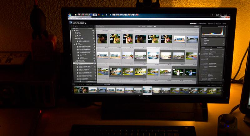 Wir setzen auf Adobe Lightroom zur Bildverwaltung