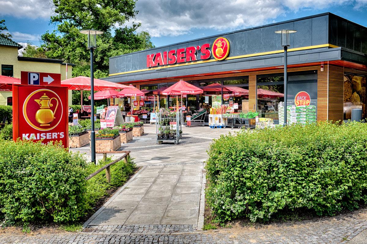 Kaisers Supermarkt in Wannsee